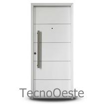 Puerta Blanca Oblak 1783b Phof Exterior 90x200 Cm Inyectada