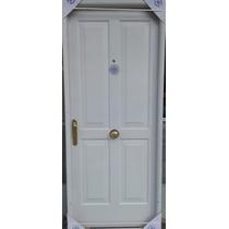 Puerta De Chapa Inyectada Premium 4 Tableros Estampada