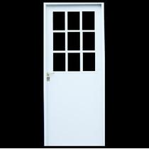 Aberturas: Puerta 1/2 Reja Lisa 70x200 Economica Doble Chapa