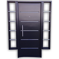Puerta Chapa Inyectada Con Barral Doble Lateral Pc-030