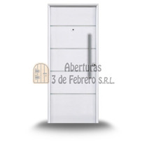 Puerta Chapa 71futura 80x200 Pavir Blanca --3defebrero Srl