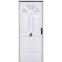 Puerta Blanca Inyectada Pavir Sol Galvanizada Pintura Horno