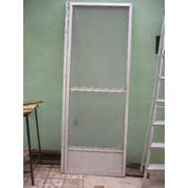 Puerta Mosquitero De Aluminio