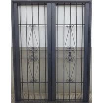 Puerta Reja Seguridad Colony Doble 150x200 Ventana Balcon