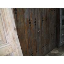 Puerta De Dos Hojas Tipo Porton