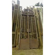 Atelier Puerta Entrada 2hojas Hierro Antigua