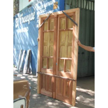 Puerta En Cedro Antiguo