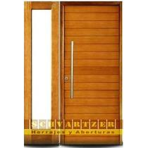 Aberturas Portada Simple Madera Oblak Master Grandis 2331