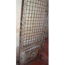 Antigua Puerta Reja Estilo Art Nouveau