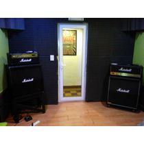 Puerta Acústica Pvc Doble Vidrio Ideal Estudios Grabación