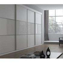 Divisor Ambiente (no Durlock) Corredizo Aluminio Vidrio Mela