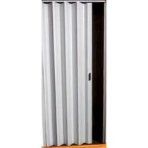 Puerta Plegadiza Pvc Reforzada Blanca Medida Standard Por M2