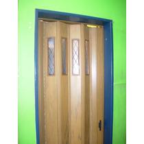 Puerta Plegadiza De P.v.c Reforzado. Modelo 1 Acrilico Full