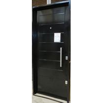 Puerta Super Pesada Atex C/cerrojo Seguridad 80x200 C/barral