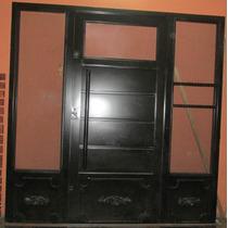 Puerta Portada De Herrería Artística