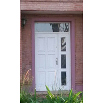 Puerta Y Media De Madera 120x230 Extra Porch