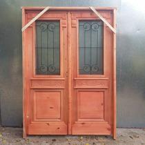 Puerta Estilo Antiguo Doble Hoja Con Todo Beraldi Aberturas