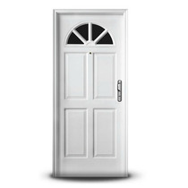 Puerta Doble Chapa Inyectada Izq Oblak 080 X 200 Mod. 2778
