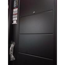 Puerta Exterior Nexo Doble Chapa Inyectada 80x200 C/manijón