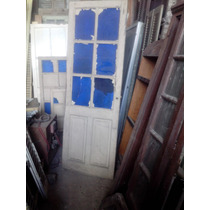 Puerta Vidrios Azules Demolición.