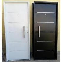 Puerta Chapa Inyectada Color Blanca Ademar