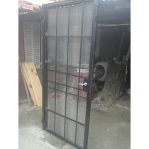 Puerta Reja Con Mosquitero