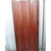 Puerta Plegadiza De Cedro Macizo De 0,80 X 2,00 Mts