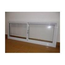 Ventana Ventiluz Vidrio Entero 150x60 Aluminio Puertas