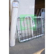 Ventana Aluminio Blanco Ent 180 X 110 C/guia, Reja Y Cortina