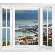 Bow Window 80x120 + 2 Rajas De Abrir De 40x120 Repartido