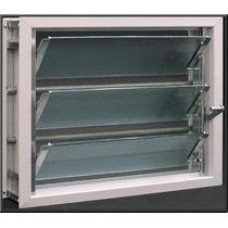 Aireador / Ventiluz Aluminio (reja/mosquitero/vidrio) 40x26