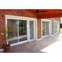 Ventana L.modena Blanca 1.80x2.00 Doble Vidrio 4/9/4