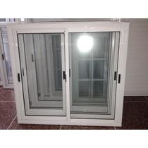 Ventana 150x110 De Aluminio Vidrio Entero (fabricantes)