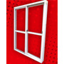 Ventana De 150*200 Aluminio Blanca Vidrio Entero C/vidrio