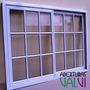 Ventana Aluminio Vidrio Repartido 150 X 110 El Mejor Precio