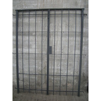 Reja Para Puerta Balcón 1,50x2,00 Mts