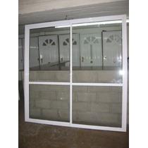 Ventana Balcon-alum Blanco 2,00x2,00 C/vid-(consulta-precio)