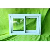 Ventana De Aluminio Para Baño 60x40 Oferta Vidrio Claro