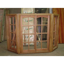 Bow Window De Madera Armado 150x060x150 Extra Porch