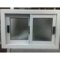 Ventana Ventiluz Aluminio 60x40 Vidrio Entero Aberturas