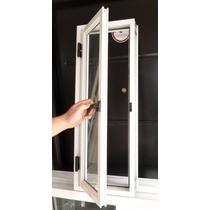 Ventanas Aluminio Raja De Abrir Vidrio Entero 30x80 Va-006
