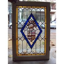 Ventana Cedro Vitreaux Central Del Bow Window C/celosías H