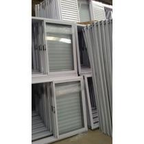 Ventana De Aluminio Blanco De 120 X 110
