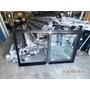 Ventana Aluminio Negro Linea A30 New.1.50x110 Con Dvh