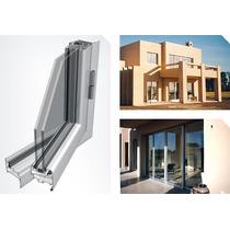 Ventana Aluminio Blanco Linea A30 New.1.50x110 Con Vidrio 4m