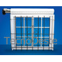 Ventana Aluminio Blanco 100x110 Repartido Guias Cortina Reja