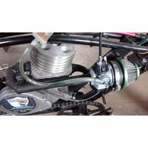 Motor Bicimoto 50cc Potenciado Tapa + Compresión, Admisión