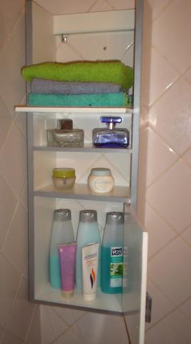 Organizador Mueble Baño:accesorio de mampara de baño, mueble organizador toallero