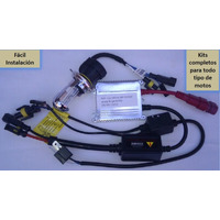 Kit De Luces De Xenon Hid H7 6000k Exlusivo Motos