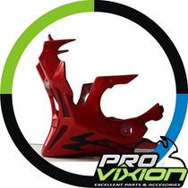 Quilla Sport Bajaj Rouser 180/220 - Exclusivo Pintado - Rojo
